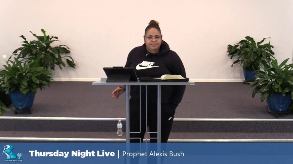 Thursday Night Live – Prophet Alexis Bush